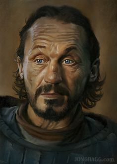 Bronn: Game of thrones- Painted this after taking Jason Seiler's portrait course on schoolism!