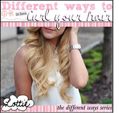 """""""Different ways to curl your hair"""" by the-tip-girly ❤ liked on Polyvore"""