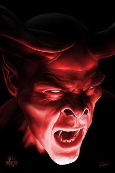 Details about shadow demon tom wood fantasy art poster inch Fantasy Kunst, Dark Fantasy Art, Fantasy Artwork, Dark Art, Demon Artwork, Arte Black, Satanic Art, Horror Artwork, Dark Fantasy