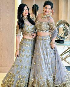 Golden And Turquoise Lehenga Designer Bridal Lehenga, Bridal Lehenga Choli, Indian Bridal Outfits, Indian Dresses, Indian Clothes, Bride Reception Dresses, Wedding Dresses, Yellow Lehenga, Bollywood Lehenga