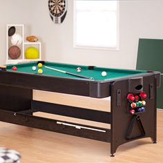Fat Cat Table   Air Hockey, Pool, Table Tennis. Basement Rec Room Game Table.  | Our FUTURE Lake House | Pinterest | Hockey Pool, Fat Cats And Pool Tables