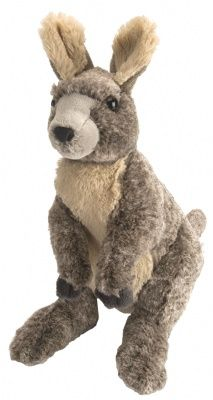 Cuddlekins Kangaroo (12-inch) at theBIGzoo.com, a family-owned gift shop with 12,000+ animal-themed items.