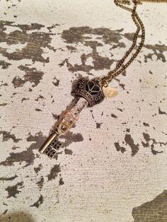 Queen of Love Key #key #crstal #boho #bohemian #accessories