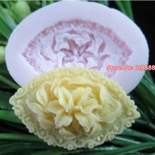 Lily Shape Silicone Cake Molds 3D Soap Forms The Stencil For Cake Baking Pastry Tools Ice Cube Cake Tools Q015(China (Mainland))
