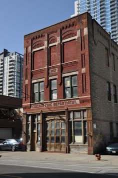 I so want to live in an old firehouse.