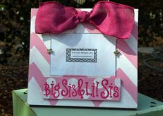 Phi Mu Sorority Picture Frame Sis And Lil Gift Idea On Etsy 18 50