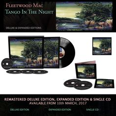 "Reprise to release remastered deluxe, expanded editions and single CD of Fleetwood Mac's 1987 album ""Tango In The Night"" for release."
