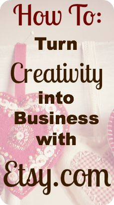 How To: Turn Creativity into Business with Etsy | Stay At Home Susie