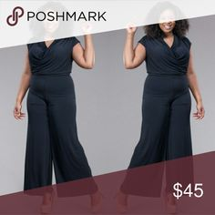 Plus size black jumpsuit 1x 2x 3x Plus size black jumpsuit 1x 2x 3x Pants