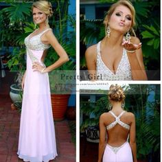 Vestido De Noche Long Party Dress Backless