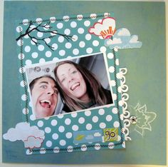 photo scrapbook card