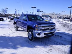 NOT JUST TOUGH. STRONG.  First came the new Chevy Silverado 1500. Next up? The new 2015 Silverado 2500HD.It just arrived today , all new come in for a test drive today at Phillips Chevrolet in Frankfort..stock #50001 .. #chevrolet #chevy#2015#silverado#frankfort#blue#new#blue  http://www.phillipschevy.com/Inventory/view/Body/Truck/New/