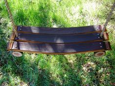 Wine Barrel Summer Time Tree Swing by CoolHollowFarms on Etsy, $155.00