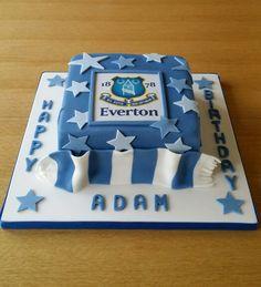 Everton cake ⚽