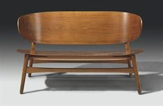 Hans Wegner. Maybe make with snowboards but keep modern legs/all over design?