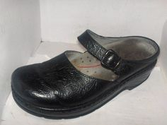 Klogs Mike Mens Leather Shoes Display Model Black 10 M