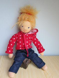 Betty soft doll 14  OOAK Waldorf inspired