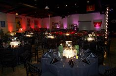Black tie and James Bond 007 themed event - Marconi Automotive Museum & Foundation for Kids (Tustin, CA).