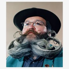 The World Beard & Moustache Championship includes categories like the English mustache, the Dali, the Freestyle beard—that's our favorite—and fourteen more. Photographer Nick Johnson documented the competition in Reno, and created follicle-focused portraits that can only be described as awe-inspiring.