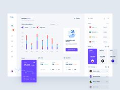 very day most digital designers look for inspiration on sources like Dribbble or Behance for mobile and webdesign UI/UX works. In a large stream of the work Web Dashboard, Dashboard Design, Ui Kit, Mobile Design, App Design, Report Design, Design Layouts, Flat Design, Design Trends