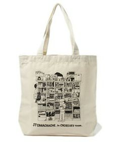 TOKYO CULTUART by BEAMS / 渋谷直角 / STOMACHACHE in CHOKKAKU room Tote (トートバッグ)