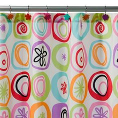 All That Jazz Shower Curtain from Target