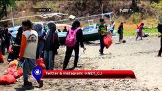 Komunitas Siswa Pecinta Alam Gelar Aksi Bersih Pantai - NET10
