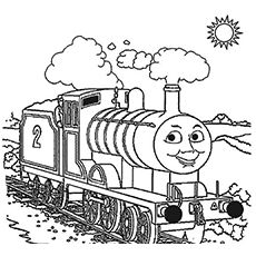 Top 20 Free Printable Thomas The Train Coloring Pages Online Train Coloring Pages Coloring Pages For Boys Valentines Day Coloring Page