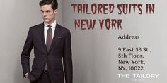 For the finely tailored suits in New York, it is essential for you to look for a custom clothing company well known for providing quality results. You can book an appointment for measurement consultations using online facility on their website. You may also get a same day appointment by making a phone call depending on the availability.  http://thetailorynyc.blogspot.com/2015/12/why-you-should-consider-buying-tailored.html