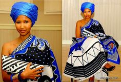 I'm Xhosa and San-and Proud of it Xhosa Attire, African Attire, African Wear, African Fashion, African Style, African Traditional Wedding, African Traditional Dresses, Traditional Outfits, Traditional Styles