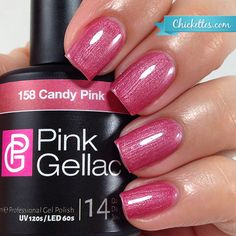 Pink Gellac Candy Pink at Chickettes.com