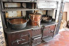 (below stairs - kitchen), Castle Ward, Strangford, County Down, Northern Ireland
