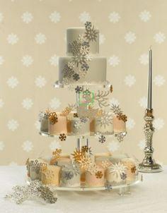 Seasonal Wedding Cakes, Winter Wedding Cakes, Christmas Wedding Cakes