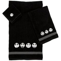 Jack Skellington towel set from Fantasies Come True