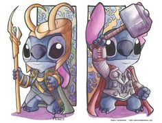 Stitch : Thor vs Loki