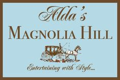 Alda's Magnolia Hill is located in Little Rock, Arkansas.It's one of the nation's top wedding venues.Family owned and operated