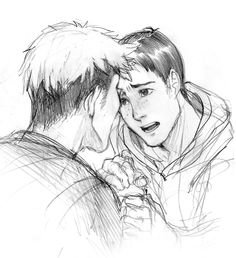 Attack on Titan ~~ Marco urging Jean to keep going?
