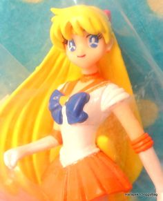 2003 : Japanese Anime / Shojo Manga : Bandai Toys : 10th Anniversary : Sailor Moon World : New Doll Collection : Sailor Moon / Sailor Venus