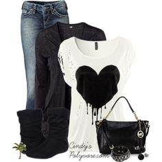 """No red for this valentine's day!!"" by cindycook10 on Polyvore"