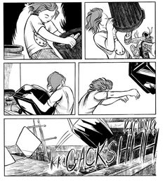How not to make a graphic novel