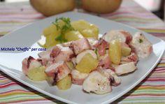 Octopus, polpo con patate al prezzemolo