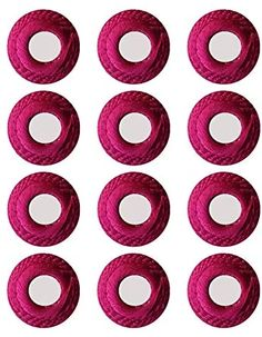 Tripti Products Magenta Mirror Work Embroidered Buttons for Sewing for Ladies Bright Colored Cloth Buttons: Amazon.in: Home & Kitchen Mirror Work, Girl Poses, Bright Colors, Magenta, Symbols, Buttons, Sewing, Bright Colours, Dressmaking
