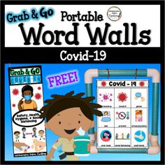 Free Covid-19 Word Walls Coronavirus Word Lists Social Distancing Writing Lists, Writing Paper, In Writing, Portable Word Walls, Phonics Words, Small Words, Book Format, Little Books, Months In A Year