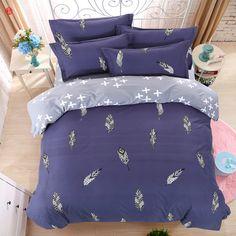 Tessili per la casa biancheria da letto <font><b>set</b></font> piuma re blu letto copripiumino lenzuola biancheria da letto queen pieno modren adulto griglia della banda biancheria da letto <font><b>set</b></font> di cinque <font><b>size</b></font> #Tessili, #casa, #biancheria, #letto, #-font-b-set-b--font-, #piuma, #copripiumino, #lenzuola, #queen, #pieno, #modren, #adulto, #griglia, #della, #banda, #cinque, #-font-b-size-b--font-