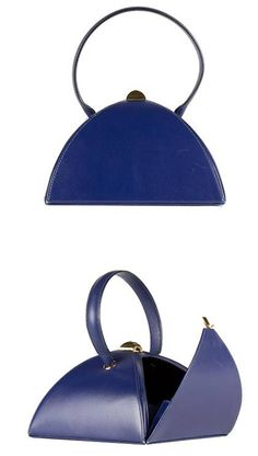 Vintage Hermès Tea Time, Blue Sapphire, Box with Gold ~ Limited Edition 1995
