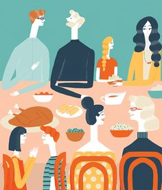 Real Simple Magazine - Naomi Wilkinson Illustration
