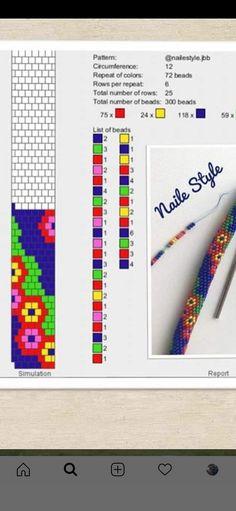 Collar Redondo, Bead Crochet Patterns, Accesorios Casual, Crochet Rope, Brick Stitch, Jewelery, Beading, Beaded Bracelets, Inspiration