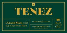 Tenez™ - Webfont & Desktop font « MyFonts