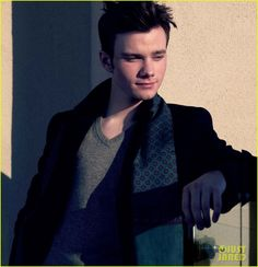Chris Colfer Covers 'August Man' February 2013