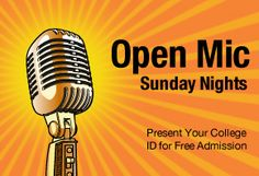 Cap City Comedy Club - FREE open mike for college students!